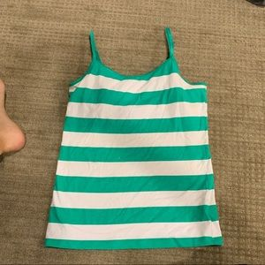 Striped tank top/camisole